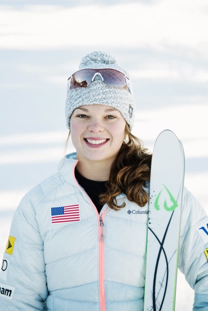 Ashley Caldwell ID ONE USA AERIAL SKIER